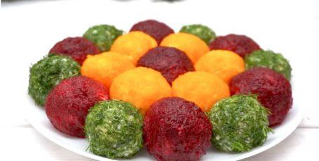 Салат-закуска Цветок! Прекрасная идея для праздничного стола!