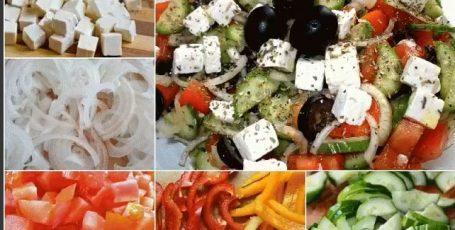 Греческий салат по традиционному рецепту