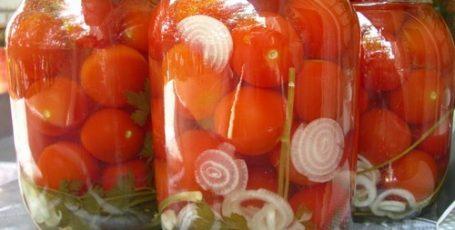 Рецепт помидоров «Пальчики оближешь»