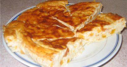 Рисовая запеканка из тыквы с яблоками