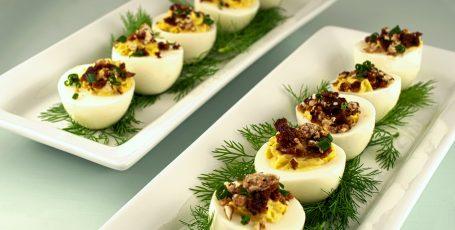 Фаршированные яйца. 25 вариантов начинки!