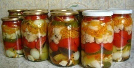Ассорти из овощей