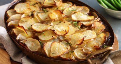 Картофель «Буланжер»  – Французский рецепт, покоривший мир своей простотой и необычайным вкусом!