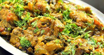 БАКЛАЖАНЫ, ЗАПЕЧЕННЫЕ С ГРИБАМИ Такую вкуснятину в сезон надо готовить очень часто!