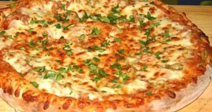Супербыстрая пицца в духовке с любой начинкой