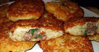 Драники с мясом – невозможно вкусно!