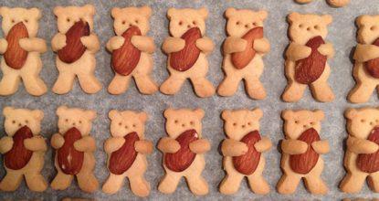 Рецепт приготовления милейшего печенья в мире. Этих плюшевых мишек даже есть жалко!