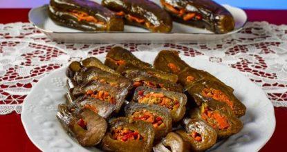 МАРИНОВАННЫЕ БАКЛАЖАНЫ Невероятно вкусная закуска к мясным блюдам
