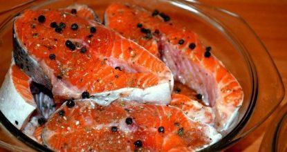 Солим рыбу вкусно