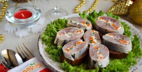 """Закуска """"Новогодняя селедочка"""""""