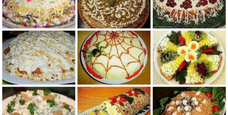 20 Лучших салатов