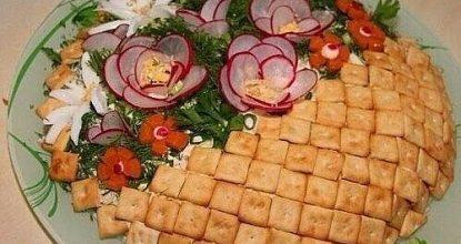 Салат «Корзинка»