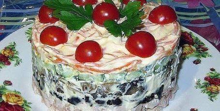 Салат «Вкуснотища!»
