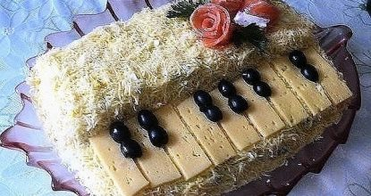 Салат «Белый рояль»