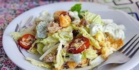 "Салат ""Быстро и вкусно"""