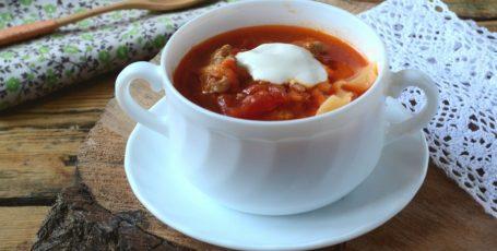 Лазанья-суп