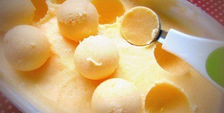 Вкуснейшее мандариновое мороженое