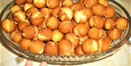 Очень простые круглые мини-пончики
