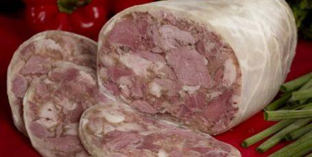 Бесподобный сальтисон из свинины