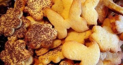 Детское творожное печенье