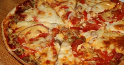 Вкуснющая быстрая пицца