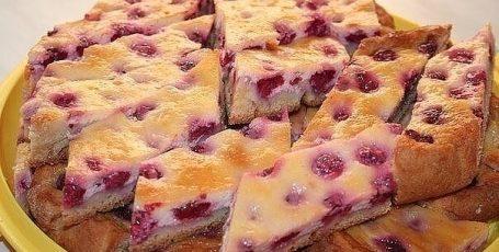 Кефирный пирог за 5 минут