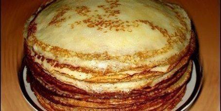 Готовим блины к завтраку