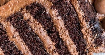 Шоколадный тoрт-мусс с шoкoладным фyндyком