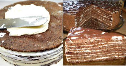 Восхитительный торт «Спартак»