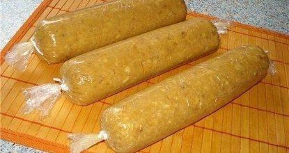 Сливочная колбаска