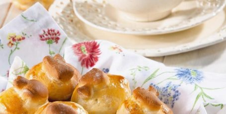 Мини-пирожки с грибами
