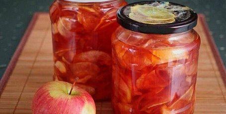 Два потрясающих рецепта варенья из яблок
