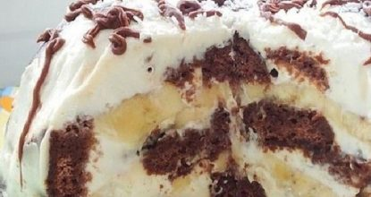 Торт всего из трёх ингредиентов