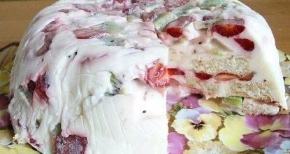 Тортик на десерт – быстрый и вкусный