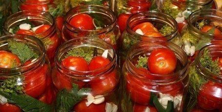 10 рецептов консервирования помидорок
