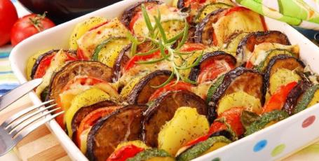 Простая и вкусная овощная запеканка