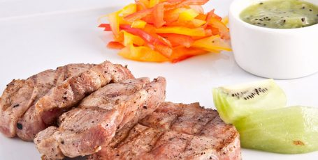 Маринад для мяса с киви
