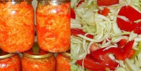 Салат из капусты «Зимний»