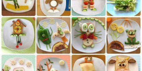 Украшаем обычные блюда для деток оригинально!