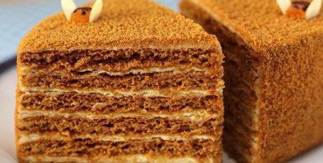 """ВКУСНЕЙШИЙ ТОРТ """"РЫЖИК"""" Очень вкусный и нежный торт — просто тает во рту!"""