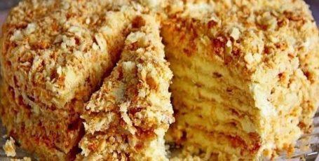 Торт «Светлана» –  Обалденный торт, за 20 минут, без выпечки!