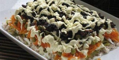 Рецепт этого салата будут выпрашивать все гости – Очень вкусный!