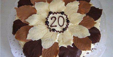 Шоколадные листочки для украшения тортов своими руками