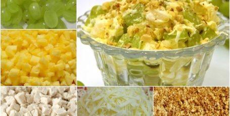 Изумительно вкусный салат из очень вкусных ингредиентов