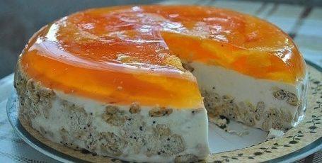 """Торт без выпечки """"Апельсинка"""""""