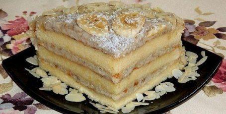 Торт банановый – невозможно вкусный!