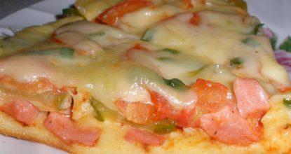 Очень быстрая и вкусная пицца