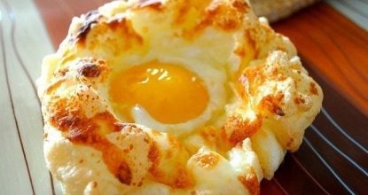 Яйца в пуховом гнезде. Нежнейший завтрак – в восторге вся семья!
