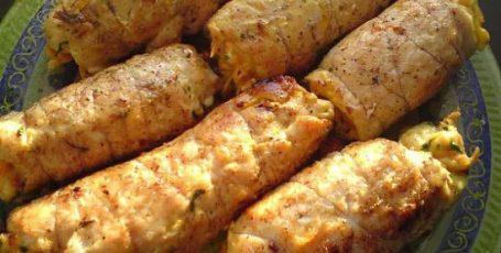 """Куриные рулетики """"Боярские"""" покорят ВСЕХ гостей своим нежным вкусом"""