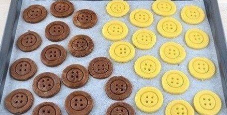 Ароматное печенье «Пуговицы»